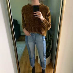 Small Zara Golden Sweater